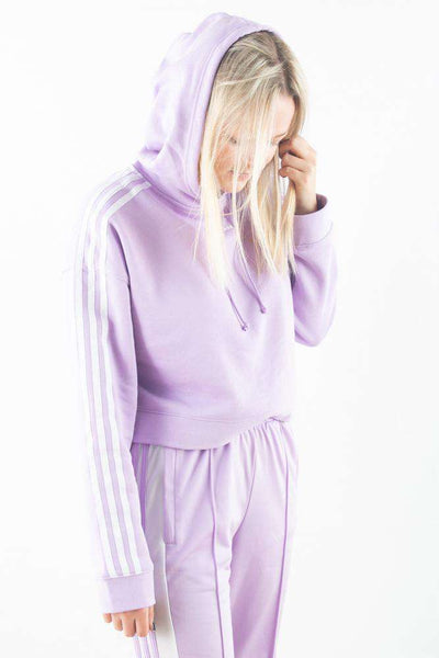 Cropped Hoodie DX2158 - Purglo - Adidas Originals