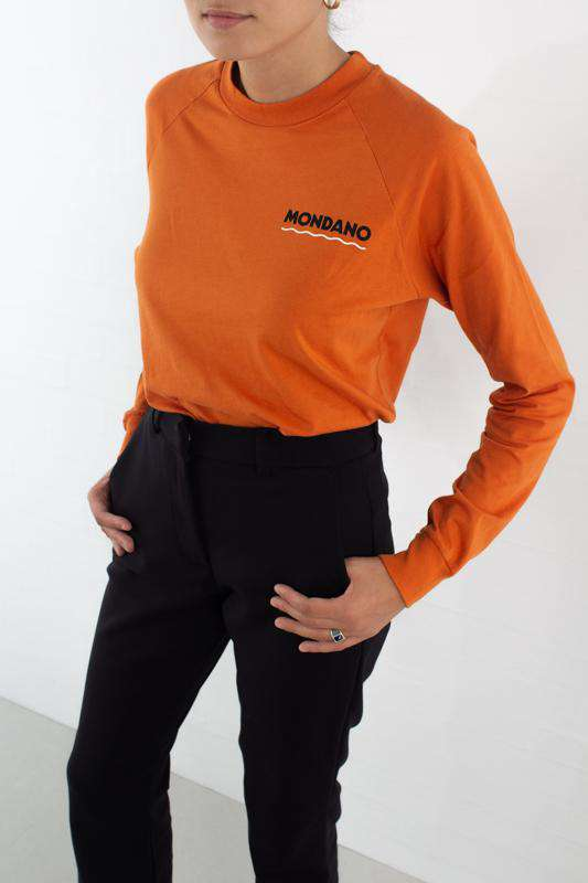 Halli Long Sleeve - Orange - Orange XS