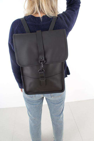 Backpack Mini - Black fra Rains Journal