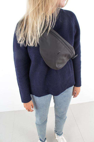 Bum Bag - Sort fra Rains Journal
