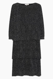 Ilja dress AV1482 - Black With White Dots - A-View