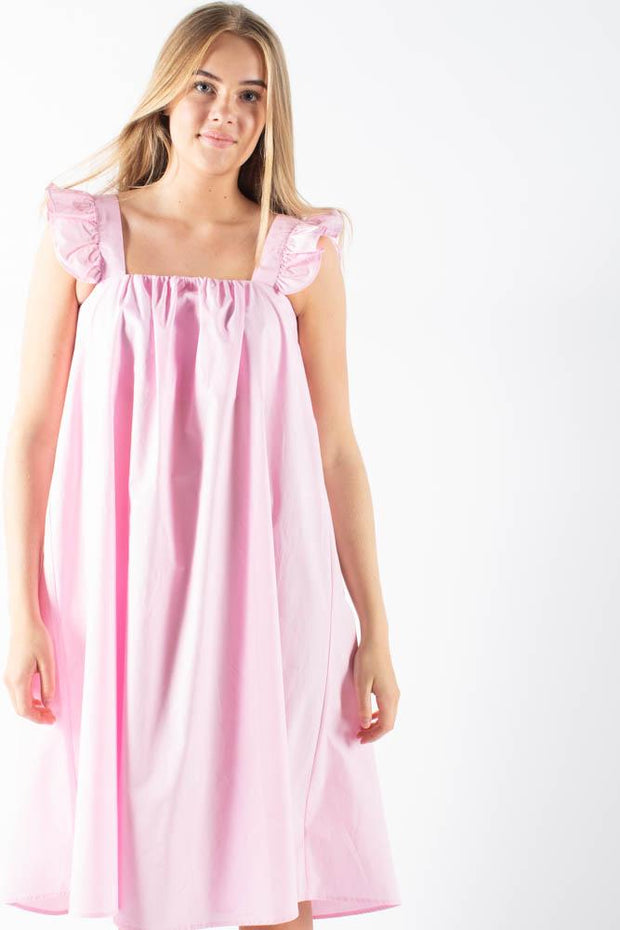 Isabellacras dress - Pink Lady - Crás