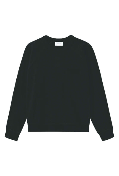 Jerri Sweatshirt - Black - Wood Wood