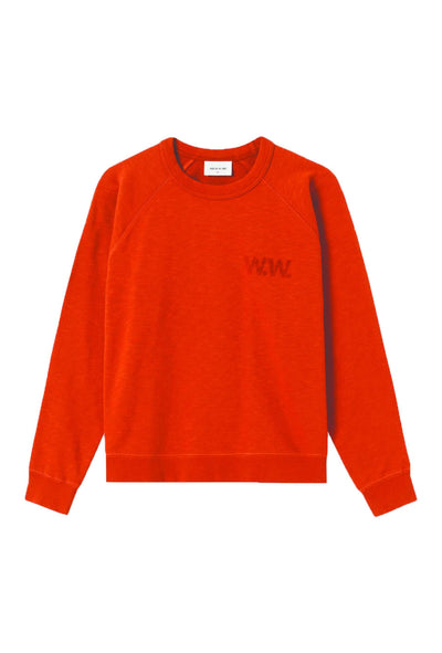 Jerri Sweatshirt - Rust - Wood Wood