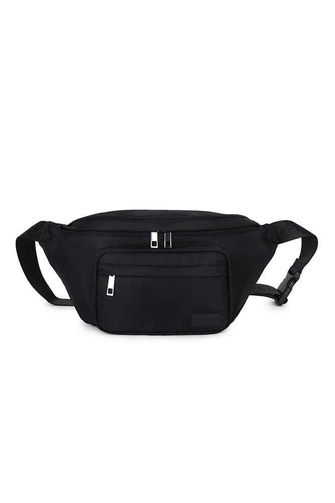 Kim Belt bag - Black - Daniel Silfen - Sort One Size