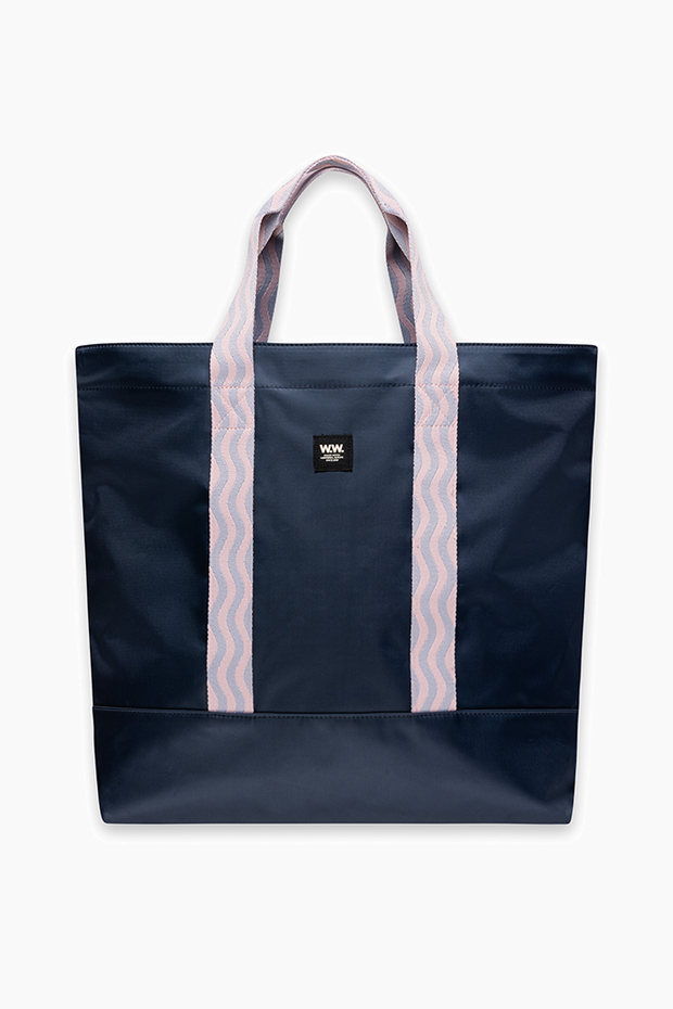Kirby shopper - Navy - Wood Wood