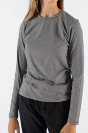 Kosovina Long Sleeved T-shirt - Black - Minimum