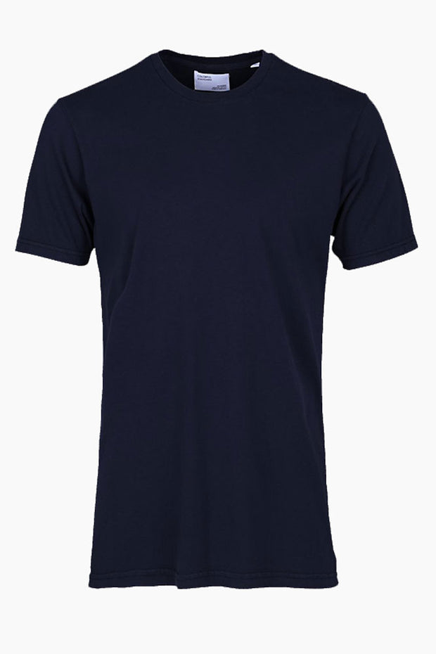 Light Organic Tee - Navy blue - Colorful Standard
