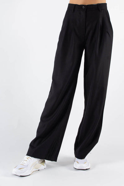 Lilo Casual Pant - Black - Minimum