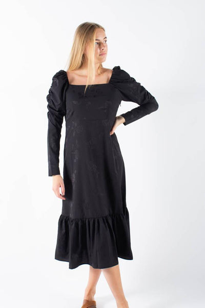 Lisecras Maxi dress - Sort - Crás