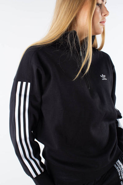 Lock up sweat - Black - Adidas Originals Qnts