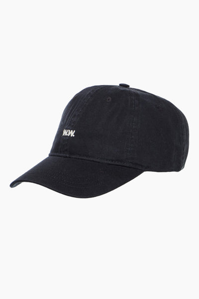 Low Profile Cap - Black - Wood Wood