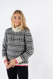 Recycled Iceland Kimi Knit - Ecru - Mads Nørgaard qnts 1