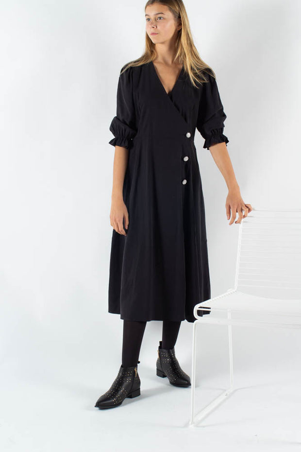 Mamos Maxi Dress - Black - Moves