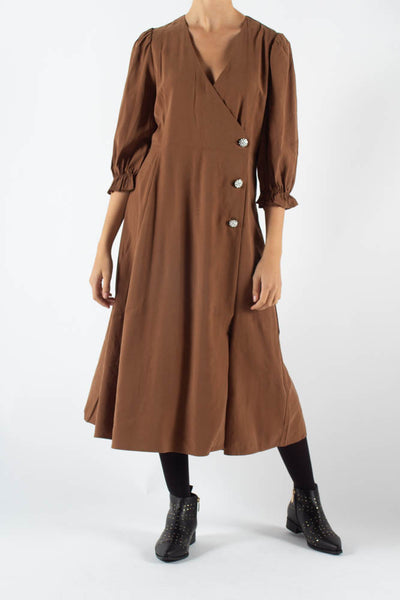 Mamos Maxi Dress - Tabacco Brown - Moves