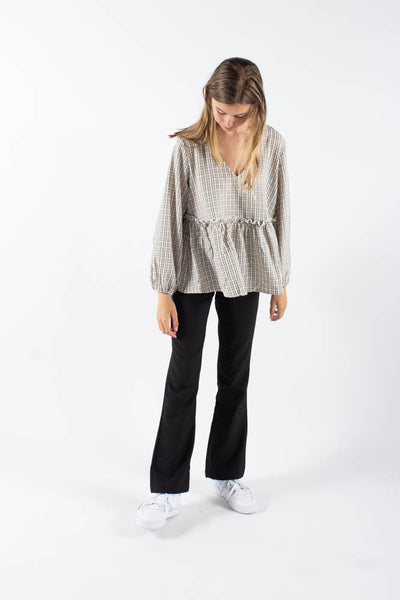 Michas long sleeved blouse - Cocoon - Moves