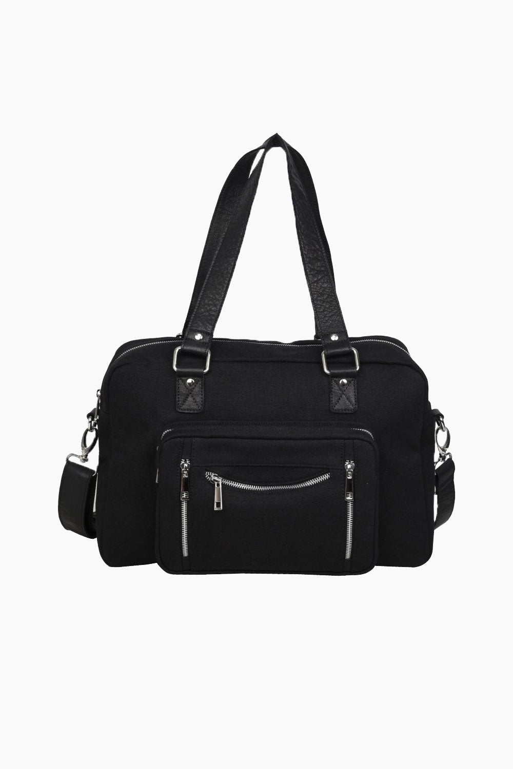 Mille recycled canvas - Black - Núnoo - Sort One Size