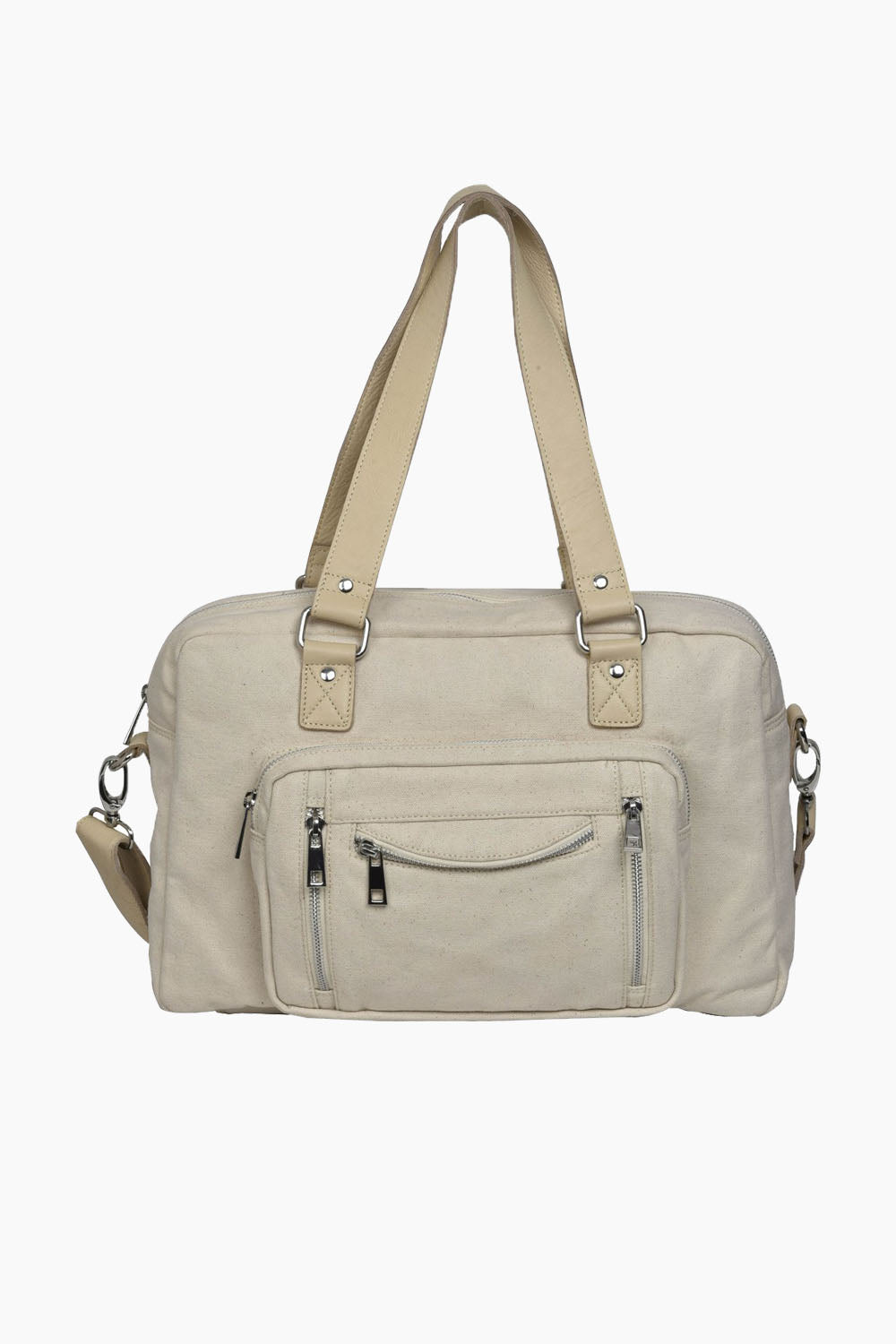 Mille recycled canvas - White - Núnoo - Hvid One Size