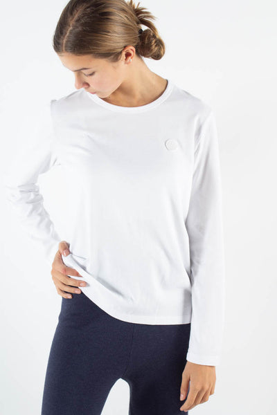 Moa Long Sleeve - White/white - Wood Wood