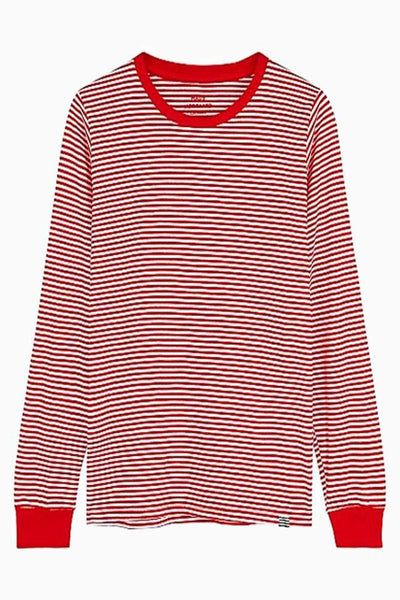Organic Favorite Stripe Trimmy Long - Stribet - Mads Nørgaard