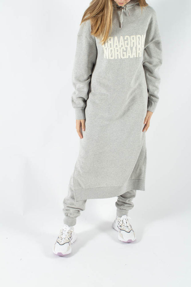 Organic Sweat Daffi - Light Grey Melange - Mads Nørgaard