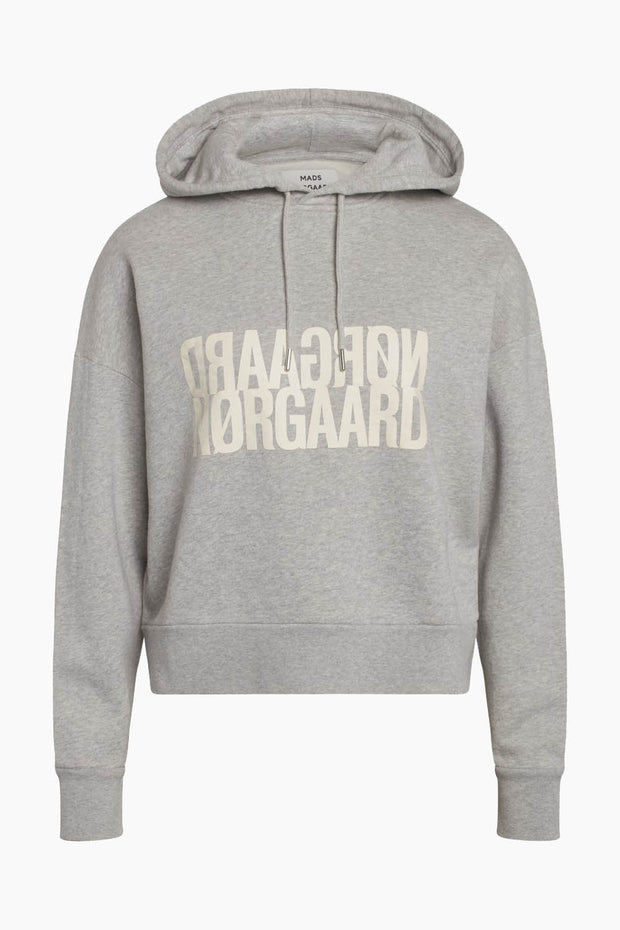 Organic Sweat Soul - Light Grey Melange - Mads Nørgaard
