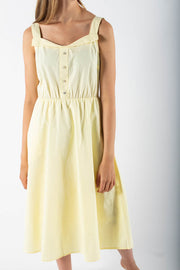 Orit Midi Dress - Sunshine - Moves