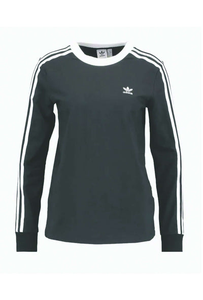3 stripes LS tee i sort fra Adidas Originals 5