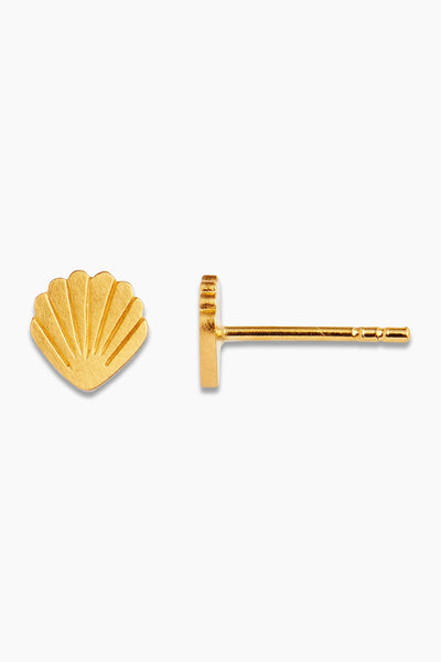 Petit Shell Earring Piece - Gold - Stine A