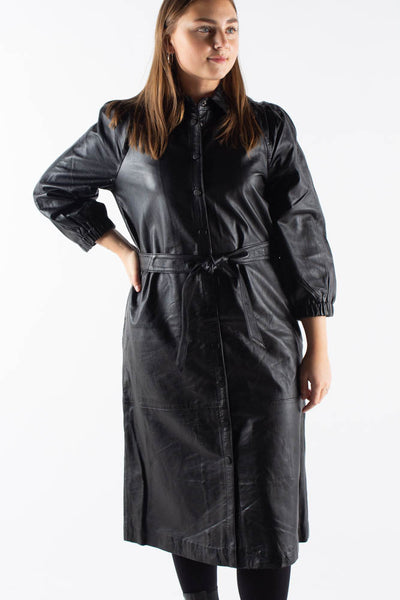 Petrah Zia Dress - Black - Bruuns Bazaar