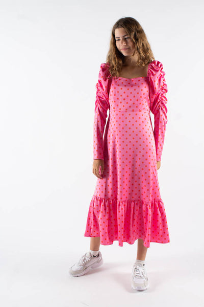 Pilcras dress - Dotty Pink - Crás