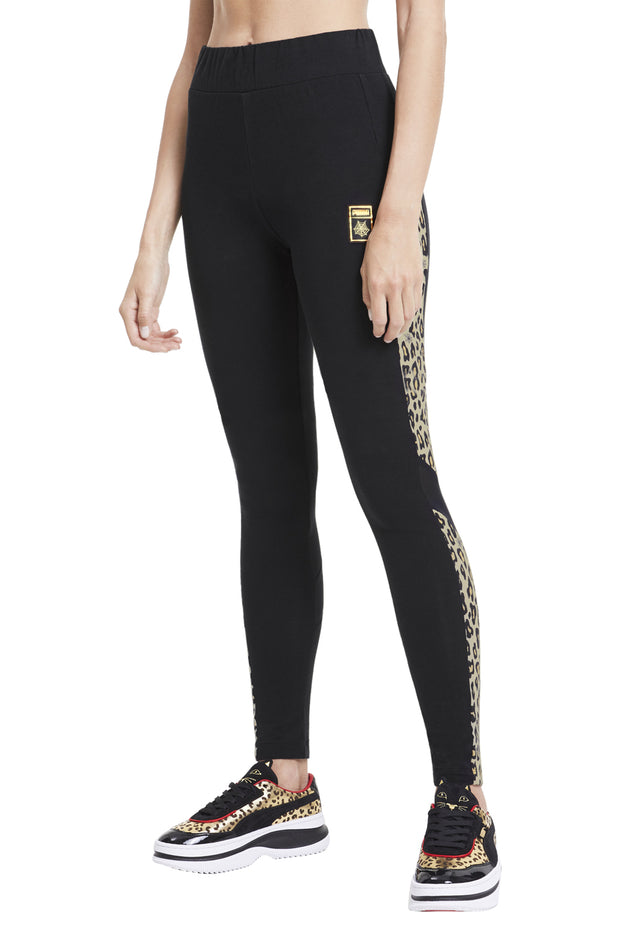 Puma x CO Tights - Black/leopard - Puma