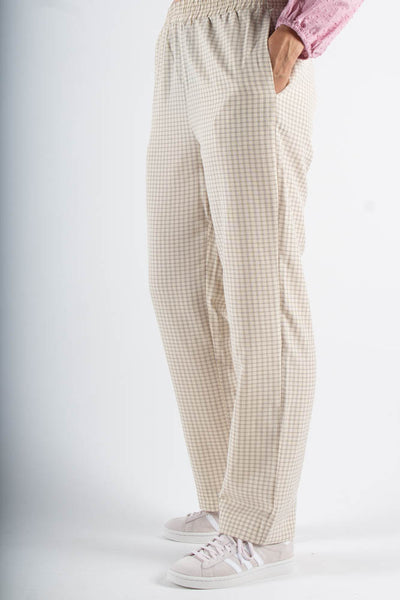 Pynne Pant 1652 - Ivory Cream - Moves