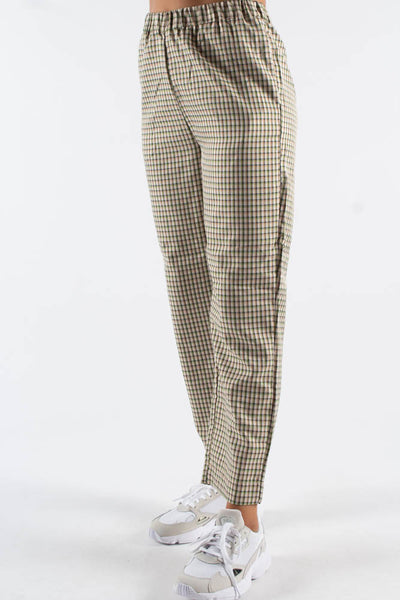 Pynne Pant 1795 - Ivory Cream/Green - Moves