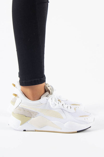 RS-X Mono Metal  - White/Gold - Puma