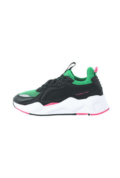 RS-X Softcase Black Green sneakers sort grøn rød Puma 6