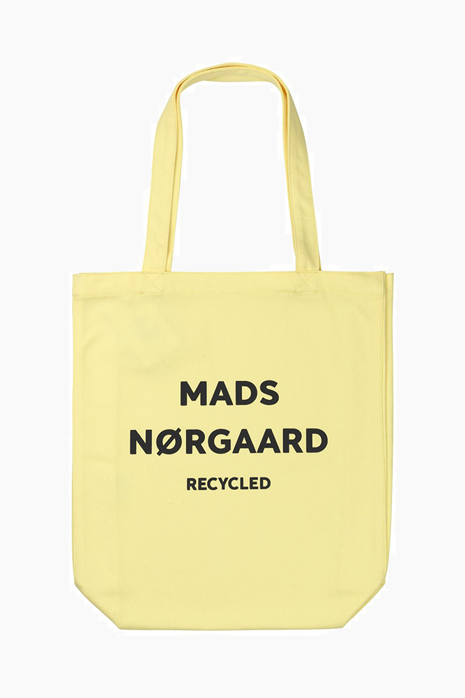 Recycled Boutique Athene- Soft Yellow/Black - Mads Nørgaard - Gul One Size