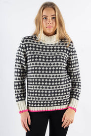 Recycled Iceland Kimi Knit - Ecru - Mads Nørgaard qnts