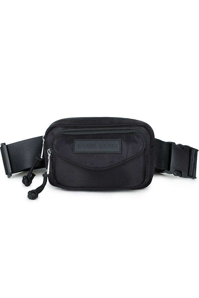 Sally Waist bag - Black - Daniel Silfen - Sort One Size