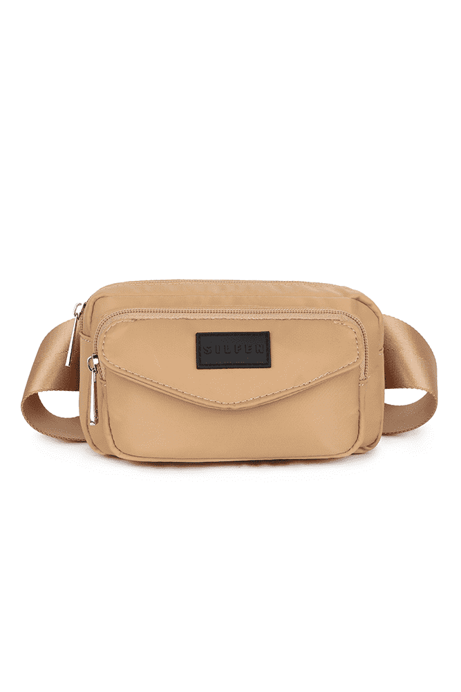 Sally Waist bag - Moondust - Daniel Silfen - Beige One Size