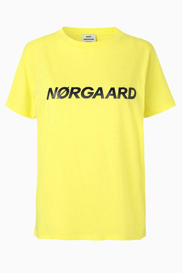 Single Organic Trenda p C - Yellow/Navy - Mads Nørgaard