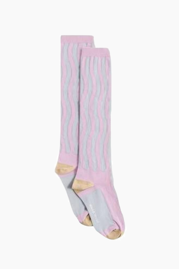 Siri Socks - Lilac - Wood Wood