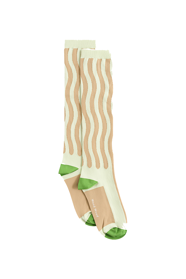 Siri Socks - Mint - Wood Wood