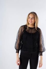 Katcy blouse - black - Moves 1