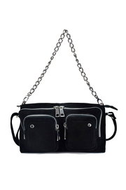 Stine chain suede - Black