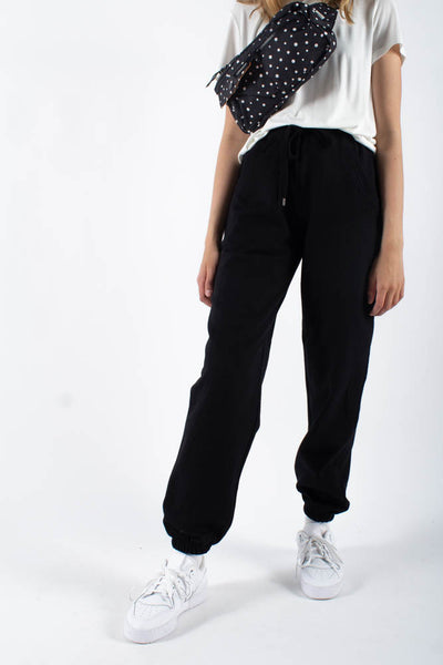 Sweat Pants - Black - QNTS