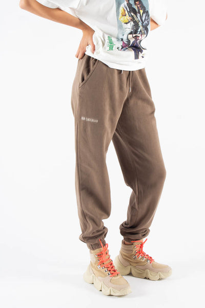 Sweat Pants - Faded Brown - Han Kjøbenhavn