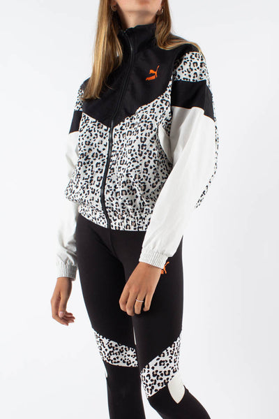 TFS Printed Track Jacket - Black - Puma