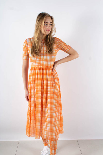 Taika dress - Orange - Résume