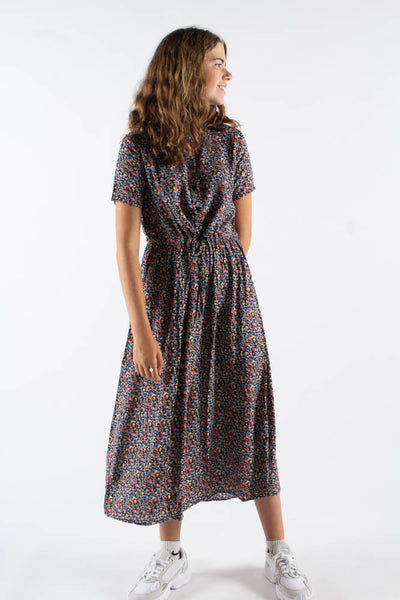 Tanisa-ss maxi dress - Dark Iris - Moves